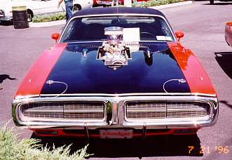 Modified 1972 Dodge Charger, front view